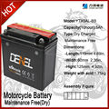 chinese motorcycles battery 12V5AH motorcycle battery 12v rechargeable motorcycle battery