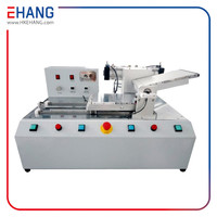Factory price high quailty tempered glass screen protector machine