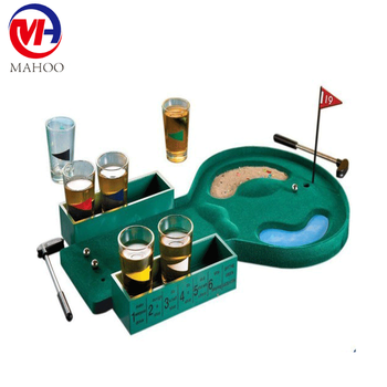 mini table Golf /drinking game ball/mini table game