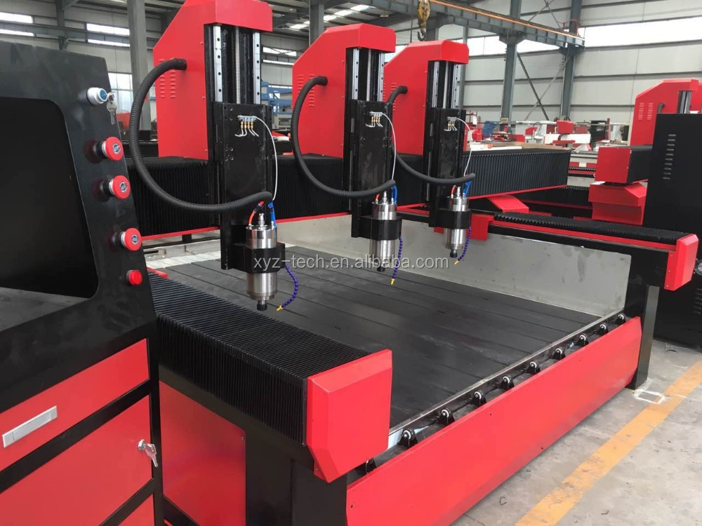 cheap cnc carving machine marble granite stone edge profile stone cnc router Stone engraving Machine Price