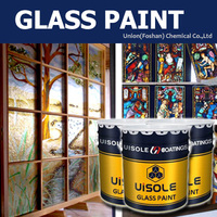 water based paint for glass 3D special beautiful painting