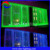 color changing LED fiber optic curtains for the living room