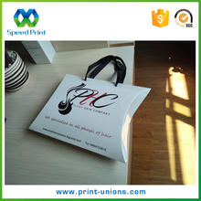 Wholesale custom logo printed pillow human hair extensions boxes