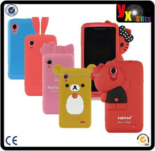 animal silicone phone case,animal silicone case