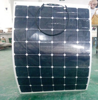 High quality 150 w24v flexible solar panels film panel saloon car modified 12 v battery charging