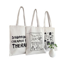 Customized Cotton Tote Bag Shopping Bag With Custom Printed Logo Hand Bags Women