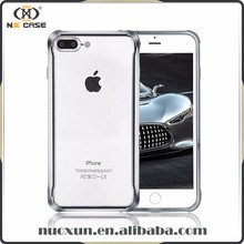 Fashion phone cases clear strong tpu, plating tpu case