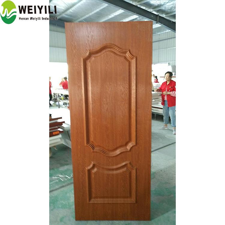 Waterproof Wood Plastic Interior Door Skin Wpc Bathroom Door Price