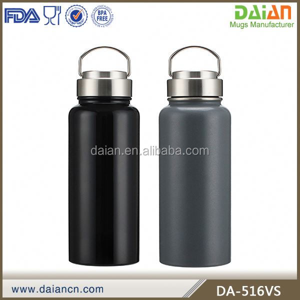 Custom printed stainless steel large capacity thermos