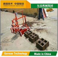 qt40-3c Concrete Brick Raw Material Hydraulic block machine