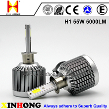 Mini design 55w car led headlight bulbs H1 H7 H11 9005 9006 r3 led headlight bulbs for mazda 6 suzuki alto