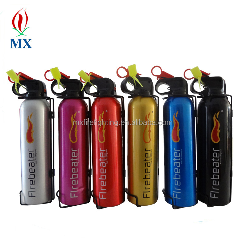 high quality convenient used mini dry powder fire extinguisher / used cars portable small car fire extinguisher
