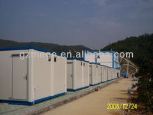 fabricated steel structures modular container house