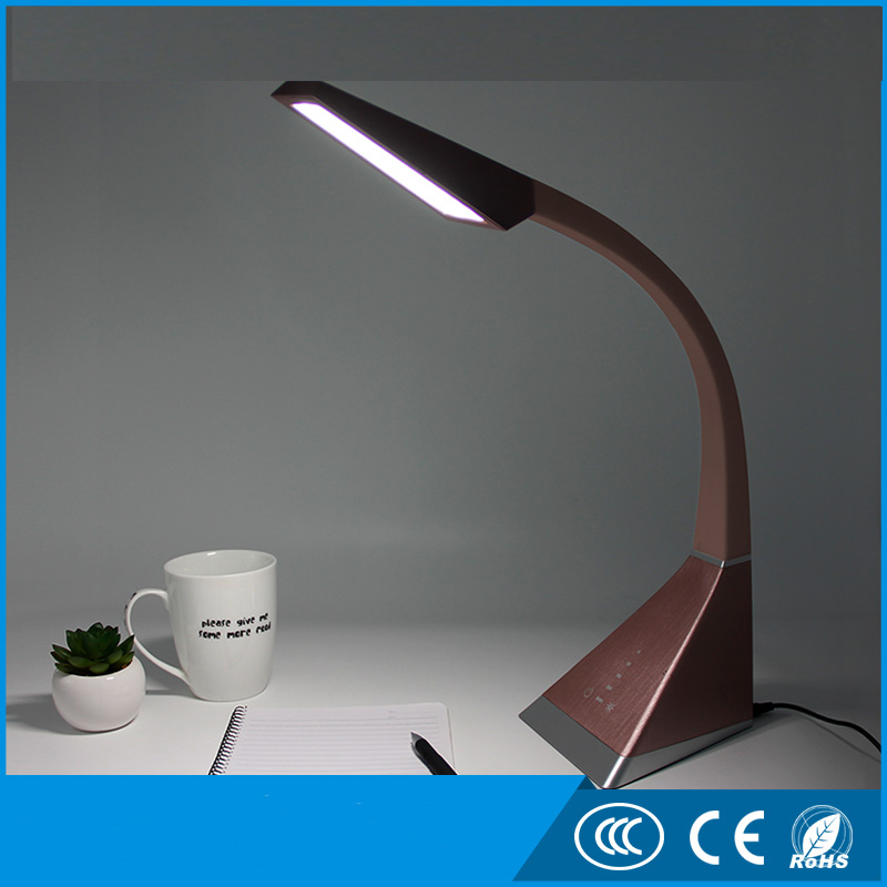 hot sell rechargable Reading table lamp led desk lamp with touch sense