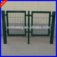 Cheap philippines garden wire mesh fence gates with beautiful appearance made by our own factory, direct export