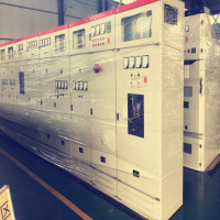 Power distribution electrical switchgear cubicle