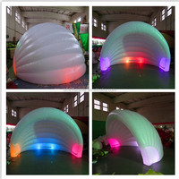 Inflatable shell tent/inflatable shell dome, tent inflatable shell for sale