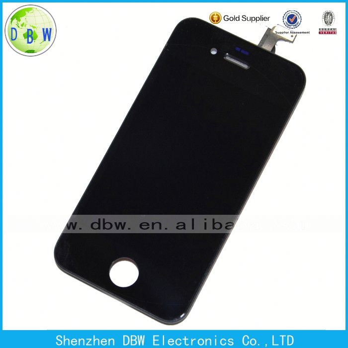 Original lcd display screen digitizer assembly for iphone 4s