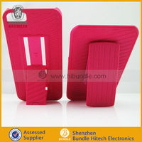 Belt Clip Shell Holster Case Combo+Stand for Apple iPhone 5