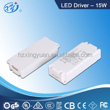 Triac dimmable led driver 15w 3-48v output with high quality