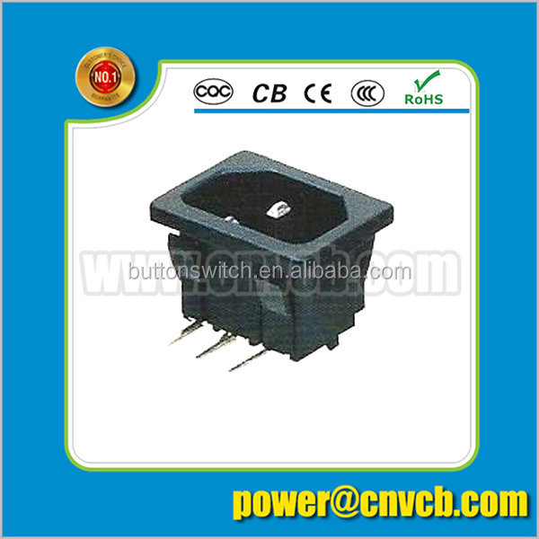 Wholesale pcb mount AC Power Switch Power Plum seat World world conversion