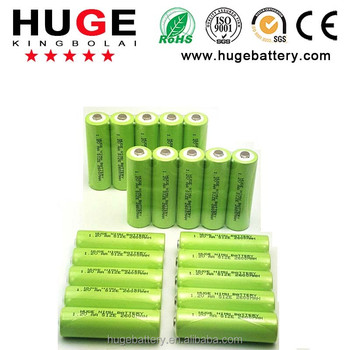 High quality with factory price 9V 160mah NI-MH Battery Pack
