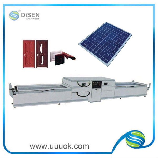 High precision solar laminating machine