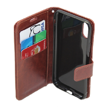 For iPhone X Magnetic Flip Pu Leather Wallet Case With Card Holder Stand Mobile Phone Cover for apple x