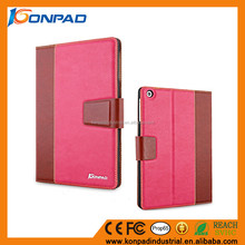 PU leather shockproof tablet case for iPad flip stand case cover for iPad air/air 2 on sale