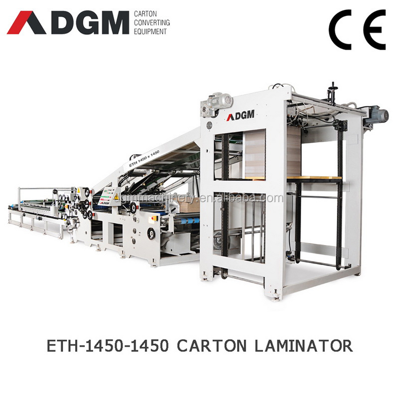 DGM Automatic corrugated cardboard laminating machine,flute laminating machine