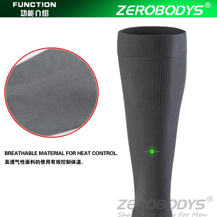 385 GY ZEROBODYS Incredible Compression Calf Sleeves Compression Leg Sleeves