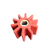 OEM good performance flexible silicone rubber impeller