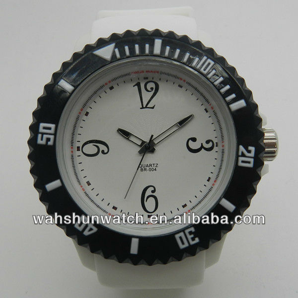 Dazzling silicone jelly watch. LED watch, lady quartz watch