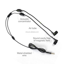 FC15 black ABS anti radiation earphones with mic for list of electronic products