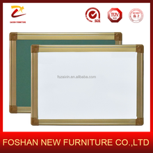 Aluminum frame magnetic writing white board for school supplies Design for office board