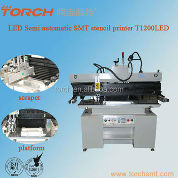 Manual cylindrical round silk screen printer machiner T1200LED