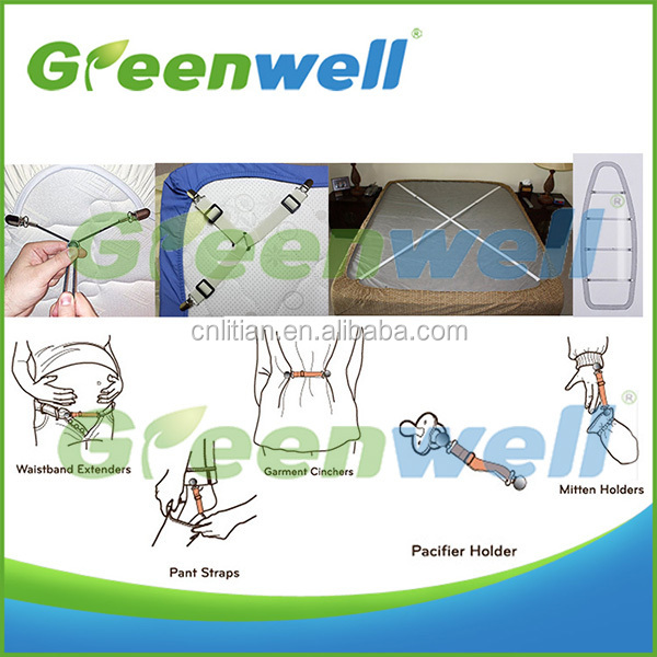 Free sample available Multi-purpose ironing board cover fasteners set of 4