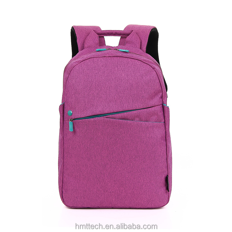 Light Weight Nylon Stylish Fancy Pink Laptop Backpack For Girls