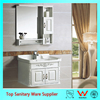 24 inch bathroom vanity, wash basin mirror cabinet PVC