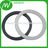 White High Temperature Transparent Custom Silicone Rubber Gasket