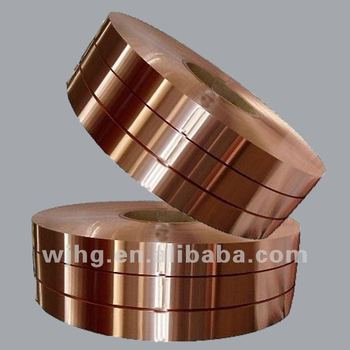 rolled pure Copper Foil T2 soft for electric cables