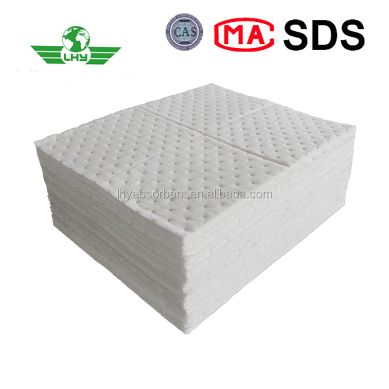 High Quality Oil Only White Absorbent Pads