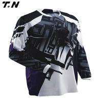 Wholesale mens long sleeves motorcycle jersey jersey motocross