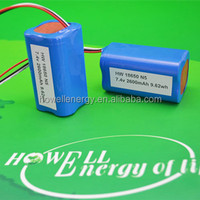 18650 li ion battery 3.7V 5200mAh For media players MP3 MP4 PMP ipod
