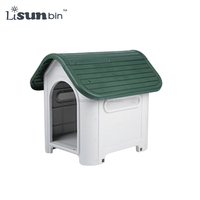 New design plastic cheap dog kennel wholesale
