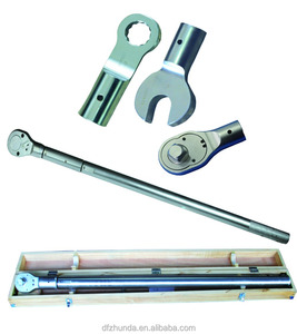 100N.m-500N.m hand tools ratchet head mechanical adjustable torque wrench