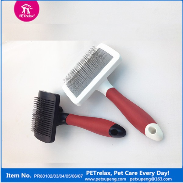 Eco-friendly Pet Bath Brush of Dog Shedding Tool