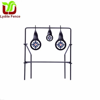 Lydite Metal Spinning Target Made In China Metallic Triple Spinner Target for Air Guns, .22 Rifles & Pistols