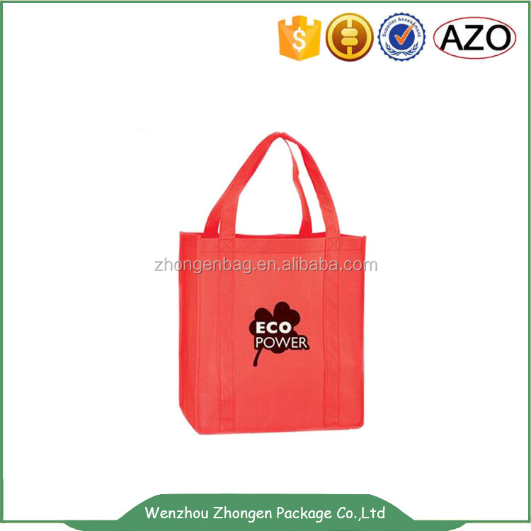 Eco friendly foldable non woven handle bag