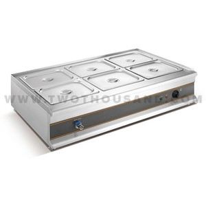 TT-WE1249 6 Pot Table Top Electric Hot Bain Marie Food Warmer Price